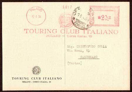 Storia postale italiana - La porta rossa sigla ...