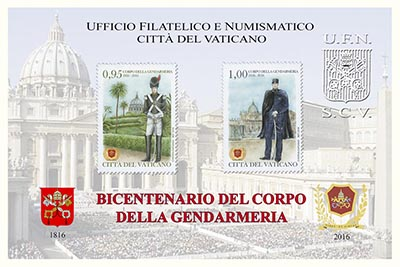 emissioni 2016 Città del Vaticano