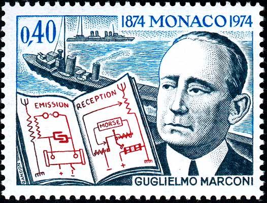 Resultado de imagem para GUGLIELMO MARCONI